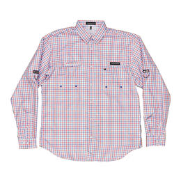Southern Marsh Men's Harbor Cay Abaco Grid Long Sleeve Shirt
