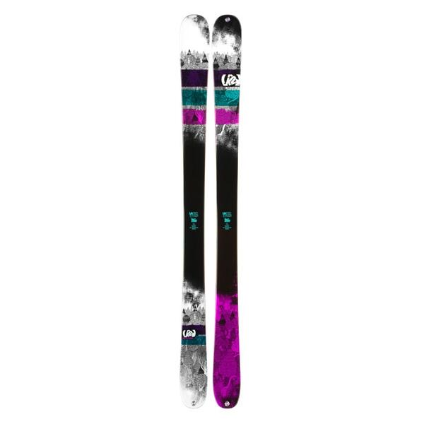 K2 Women's Missdemeanor Park and Pipe Twin Tip Skis '14 - Flat