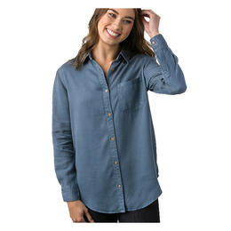 tentree Women's Fernie Long Sleeve Button Up Shirt