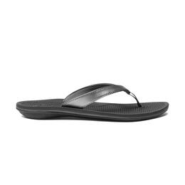 OluKai Women's Ono Casual Sandals Black/Black