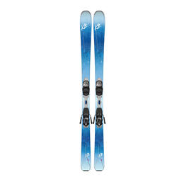 K2 Skis Women's Luv 75 All Mountain Skis With Marker ERP 10 Bindings '17