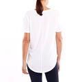 Lucy Women's Final Rep Short Sleeve Top White Back