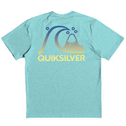 Quiksilver Boys' Heritage Surf Heather Short Sleeve Rashguard