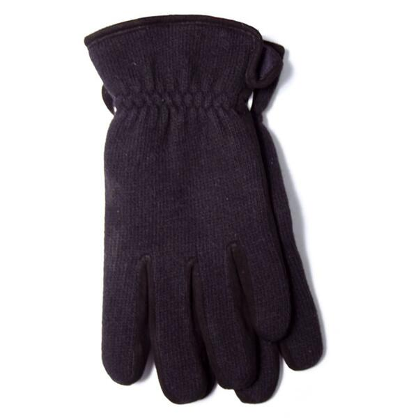 Manzella Men's Wool Knit Casual Gloves