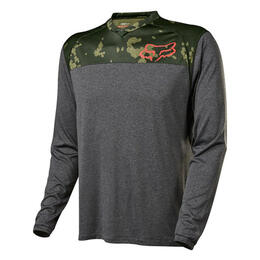 Fox Men's Indicator Printed Long Sleeve Cycling Jersey