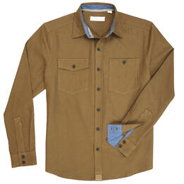 Dakota Grizzly Men's Barnes Twill Button Up Shirt