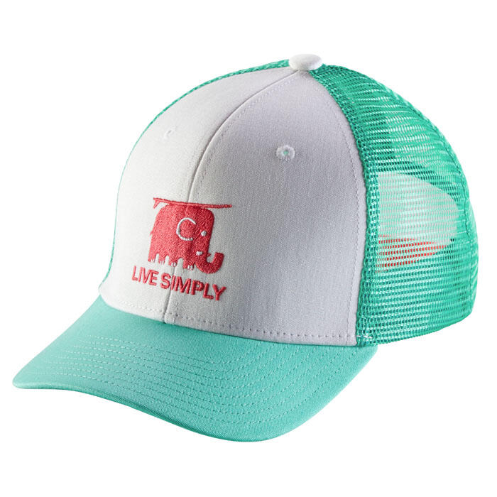 3a860acee194f Patagonia Girl s Live Simply Elephant Trucker Hat - Sun   Ski Sports