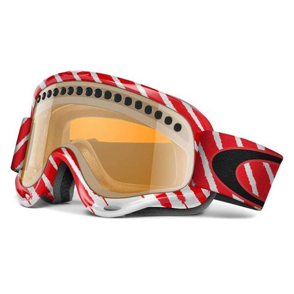 Oakley XS O Frame Shaun White Goggles with Persimmon Lens