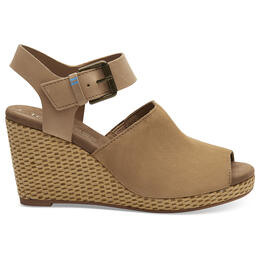 Toms Women's Tropez Wedge Sandals
