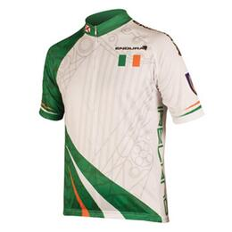Endura Men's Short Sleeve Ireland Flag Jersey