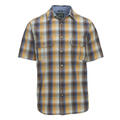 Woolrich Men's Midway Yarn-Dye Short Sleeve