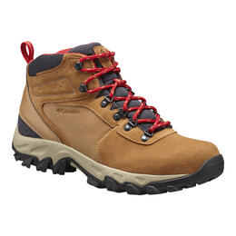 Columbia Men's Newton Ridge Plus II Suede Waterproof Hiking Boots Wide