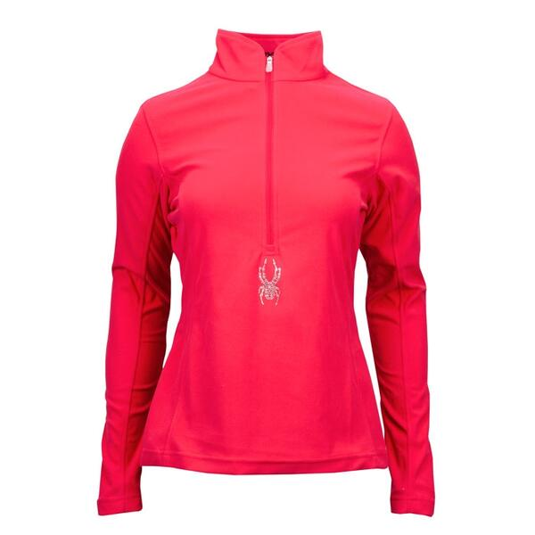 Spyder Women's Shimmer Bug Fleece T-Neck