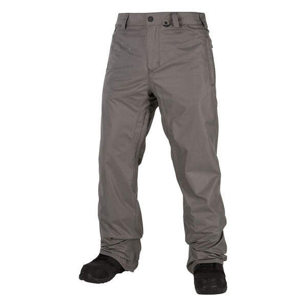 Volcom Men's Freakin Snow Chino Snowboard Pants Charcoal