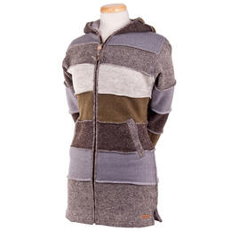 286b2433257e Laundromat Women s Betsy Patchwork Sweater Coat