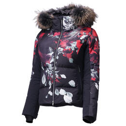 Descente Women's Hana Down Jacket With Fur Trim
