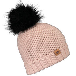 Obermeyer Girl's Riverside Faux Fur Pom Hat