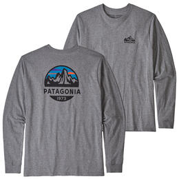 Patagonia Men's Long Sleeved Fitz Roy Scope Responsibili-Tee Shirt