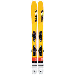 K2 Boy's Mindbender Jr. Skis with FDT 7.0 Bindings '20