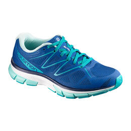 Salomon Women's Sonic Running Shoes Nautical Blue/White
