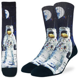 Good Luck Socks Men's Apollo Astronaut Socks