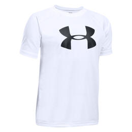 Under Armour Boy's Tech Big Logo Short Sleeve Shirt