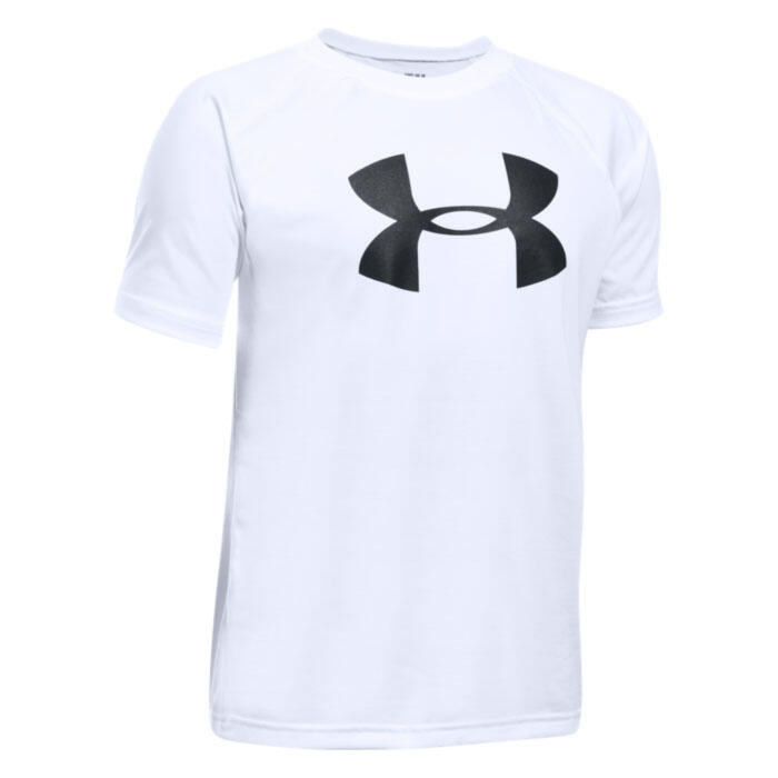 Under Armour Boy's Tech Big Logo Short Slee