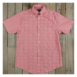 Southern Marsh Men's Chatooga Windowpane Short Sleeve Tee Shirt