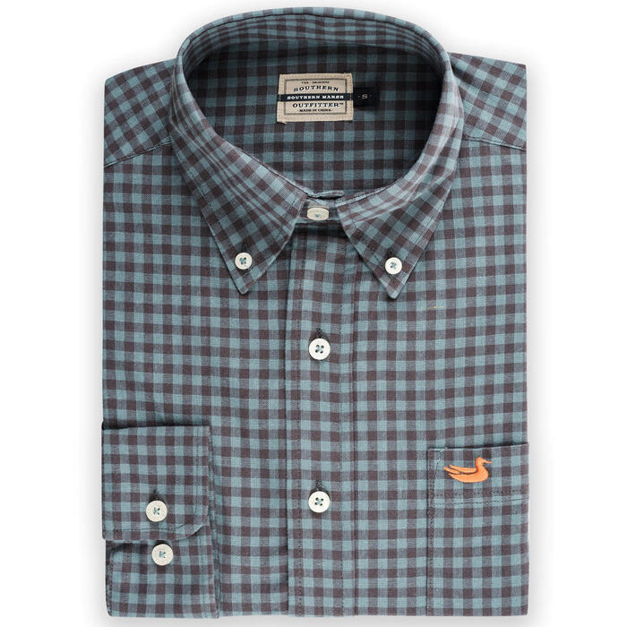 Southern Marsh Men's Summer Washed Gingham