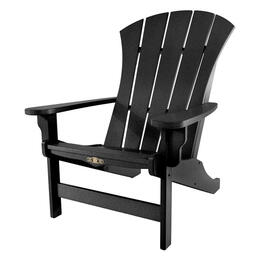 Pawleys Island Durawood Sunrise Adirondack Chair - Black