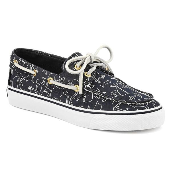 Sperry Women's Critter Print Bahama 2-eye Casual Shoes