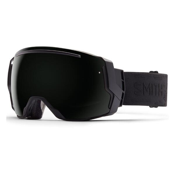 Smith I/O 7 Snow Goggles With Blackout And Red Sensor Lenses