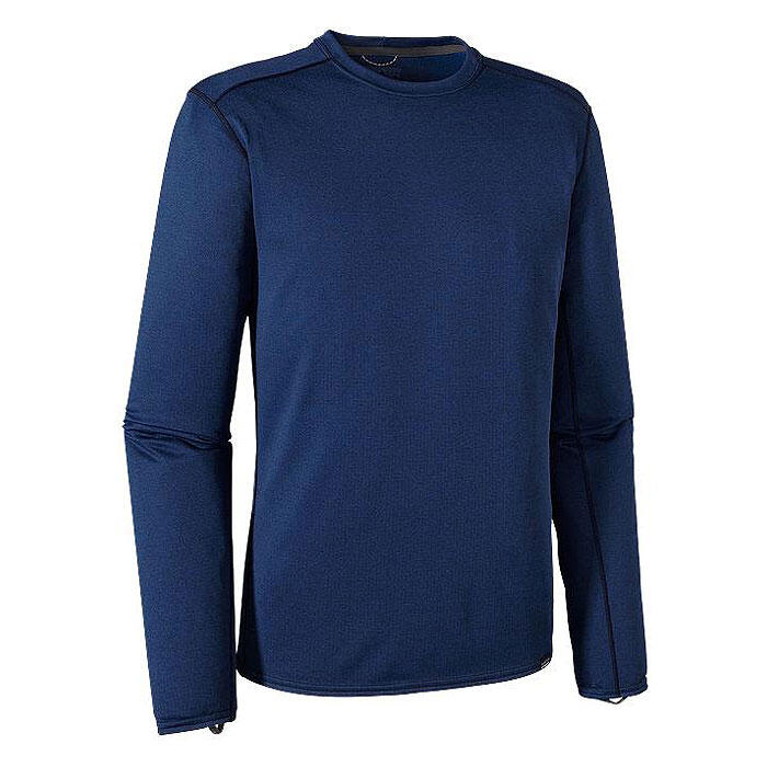 Patagonia Men's Crew Capilene 3 Long Sleeve Baselayer Navy