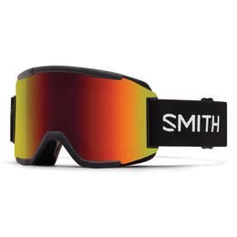 Smith Squad Snow Goggles With Red Sol X Lens