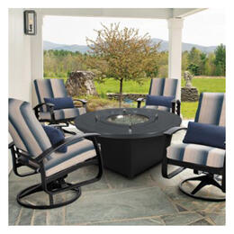 Telescope Casual Belle Isle Graphite 5-Piece Deep Seating Set