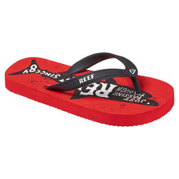 Reef Boy's Grom Switchfoot Prints Sandals