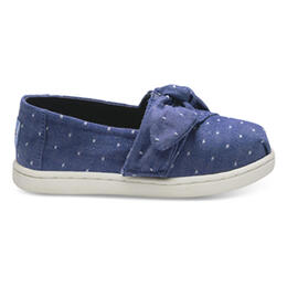 Toms Toddler Girl's Bow Alpargata Casual Shoes