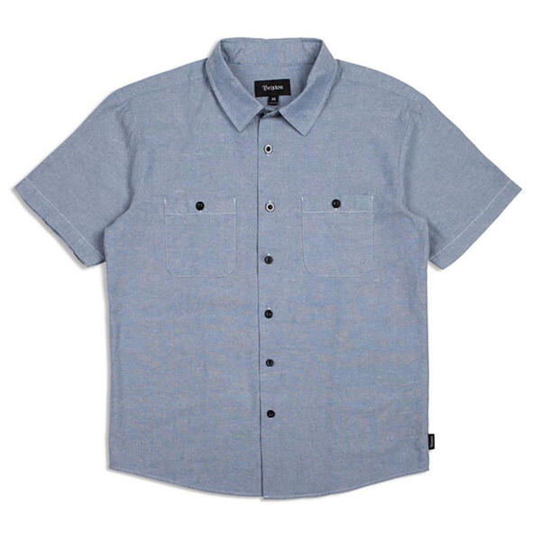 Brixton Men's Reeve Short Sleeve Woven Shirt