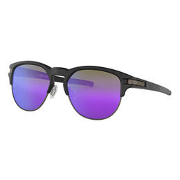 Oakley Men's Latch Key Sunglasses with Violet Iridium Lenses