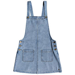 Roxy Women's Love To Travel Denim Shortall Dress