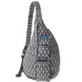 Kavu Women's Rope Black And White Trio Bag