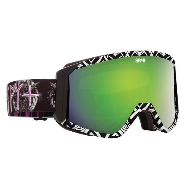 Spy Skinner Raider Goggles with Bronze/Green Spectra and Pers. Lenses