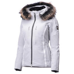 Descente Women's Layla Insulated Jacket With Faux Fur Trim