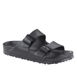 Birkenstock Women's Arizona Essentials Sandals Metallic Anthracite