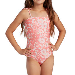 Billabong Girl's Way To Love One Piece Swimsuit
