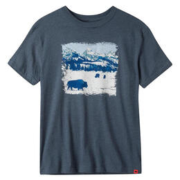 Mountain Khakis Men's Snowy Graze Short Sleeve T Shirt