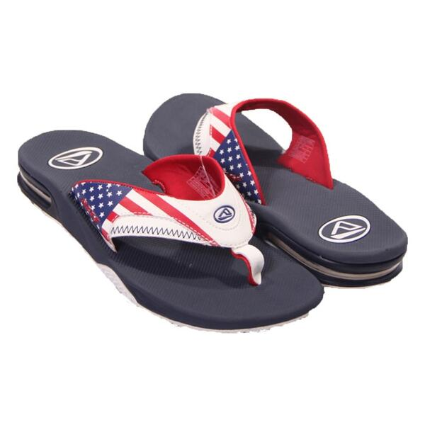 Reef Fanning Stars And Stripes Casual Sandals