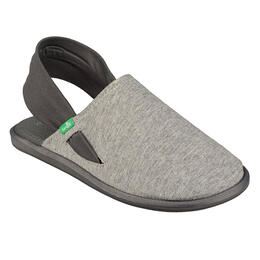 Sanuk Women's Yoga Sling Cruz Heather Charcoal Sandals