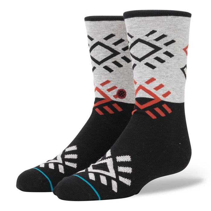 Stance Boy's Black Rock Socks
