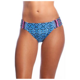 La Blanca Women's Realist Side Shirring Hipster Bikini Bottoms